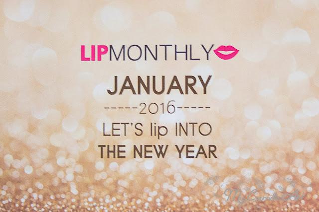 Lip Monthly de enero de 2016
