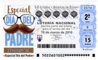 loteria nacional dia del padre