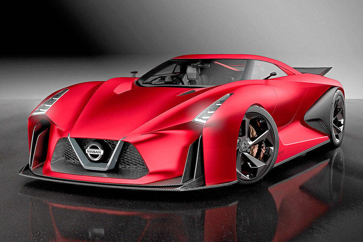 Nissan Concept 2020 Vision Gran Turismo - The War of Auto's