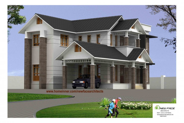 Home design 2400 sq ft home design and style for Modern house plans 2400 sq ft