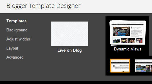 Customising View Options In Dynamic View Templates On Blogger