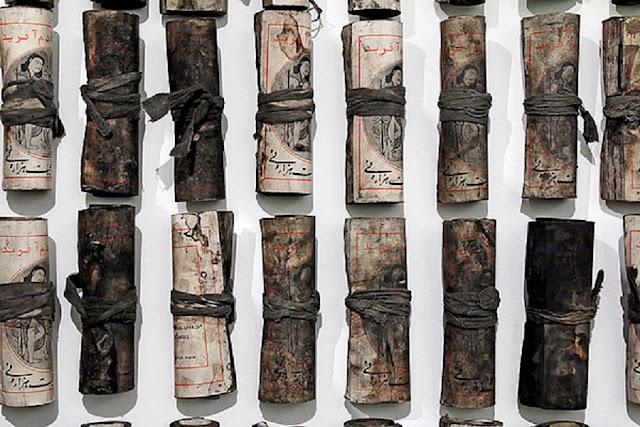 """Product of Chohreh Feyzdjou"" -Post-apocalyptic Installation"