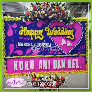Toko Bunga Papan Wedding Jakarta Utara
