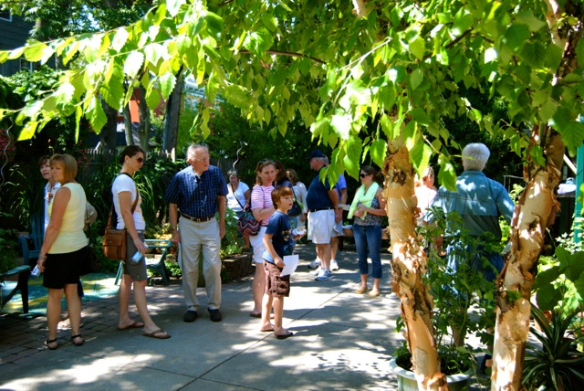 Buffalo Garden Walk: Garden Walk Buffalo Weekend, Exhilarating And Exhausting