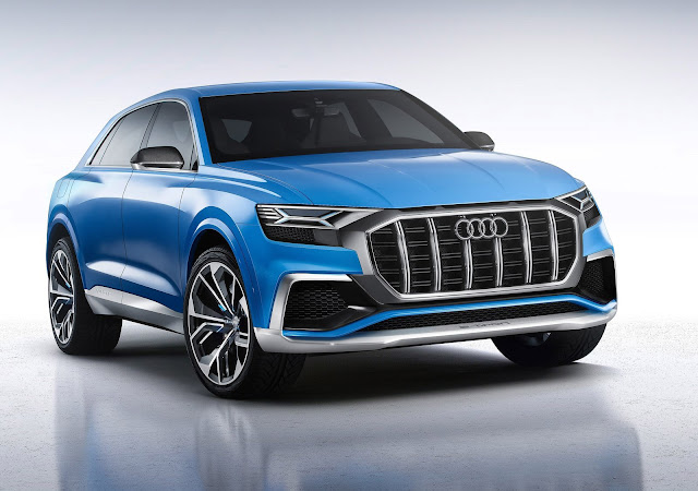 2017 Audi RS Q8 Performance Crossover Concept - #Audi #RS #Q8 #Performance #Crossover #Conceptcar