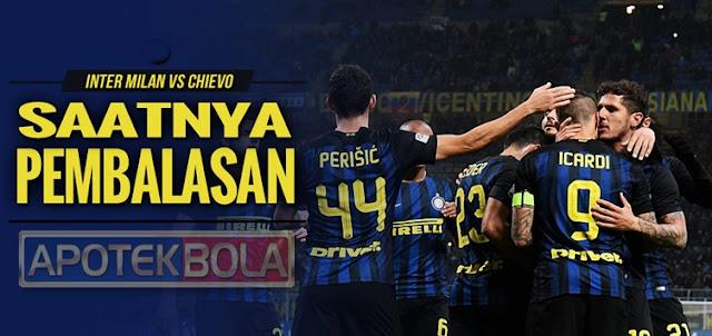 Prediksi Pertandingan Inter Milan vs Chievo 15 Januari 2017