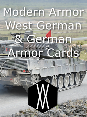 Modern Armor – West German and German Armor Cards