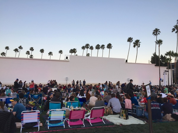 Hollywood Forever movie night