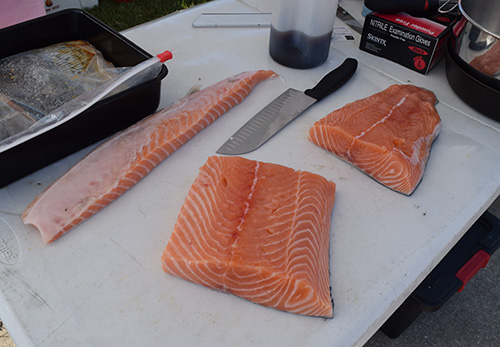 salmon at 2017 Sunshine State Eggfest