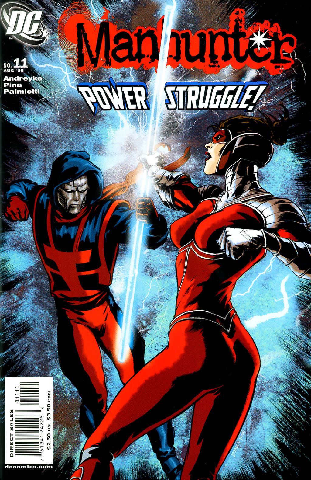 Manhunter (2004) issue 11 - Page 1