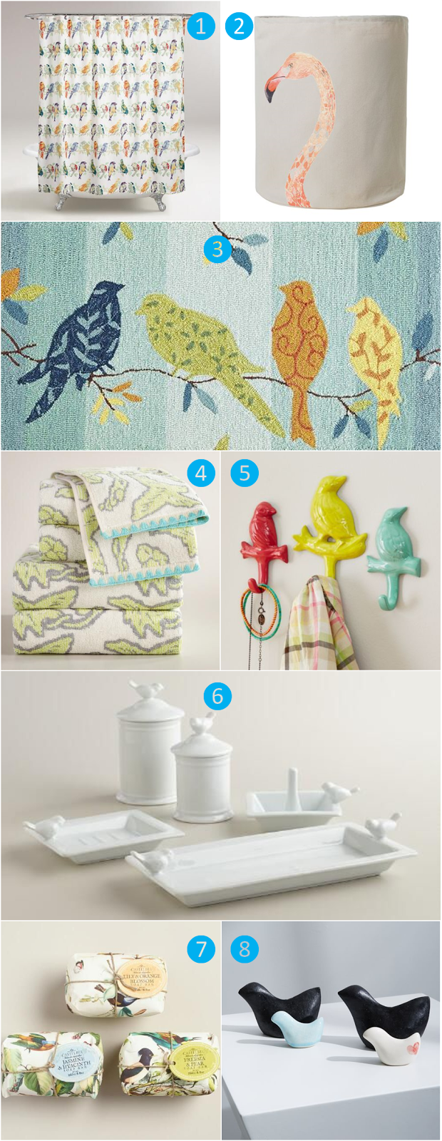 BoHo Home Feather Your Nest For Spring With Bird Themed Décor