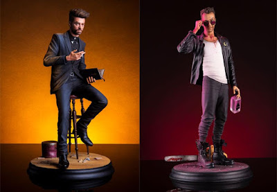 AMC's Preacher Television Series Jesse Custer & Cassidy Polystone Statues by Mondo x Rory Kurtz