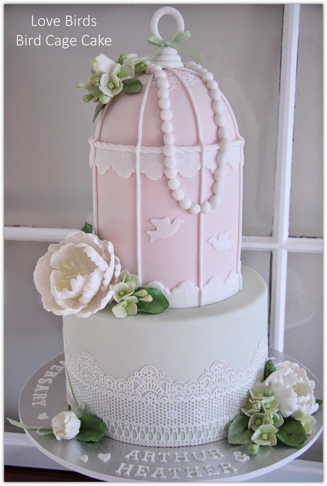 Leonie S Cakes And Parties Bird Cage Cake