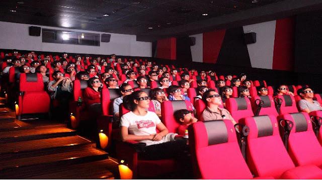 Tiện ích rạp chiếu phim cao cấp