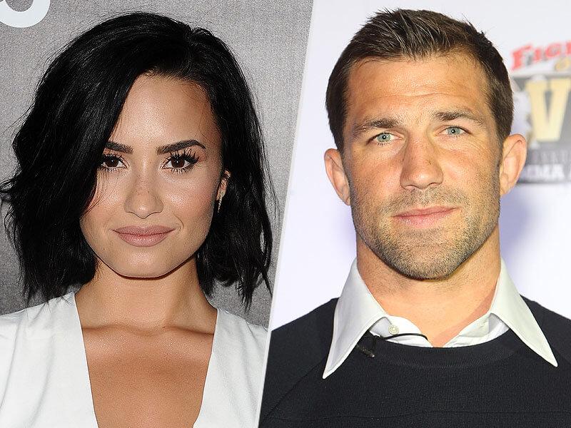 Demi Lovato y Luke Rockhold confirman su relación