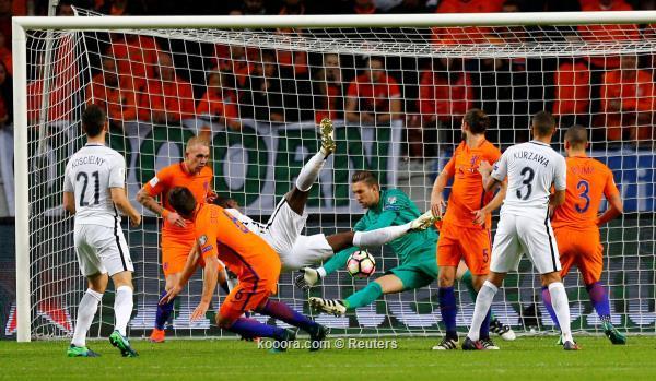 اهداف هولندا وفرنسا