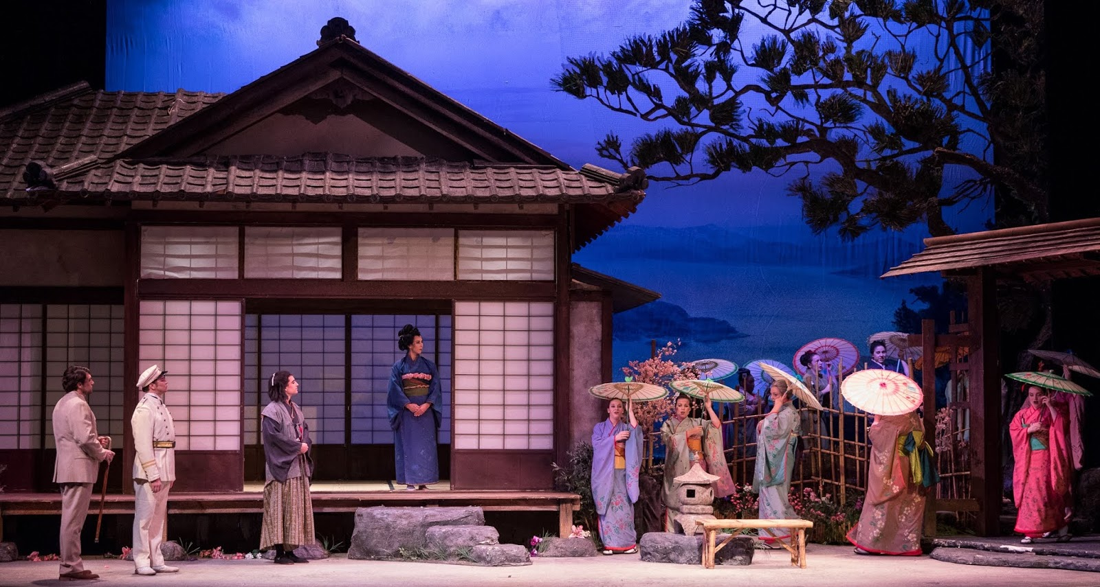 IN REVIEW: the cast of Greensboro Opera's production of Giacomo Puccini's MADAMA BUTTERFLY, 9 November 2018 [Photo by Vanderveen Photography, © by Greensboro Opera]