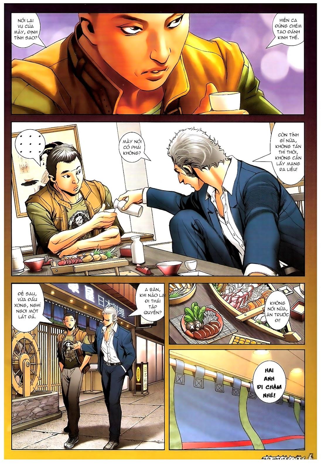 Người Trong Giang Hồ - Chapter 1378: Oan gia gặp nhau - Pic 5