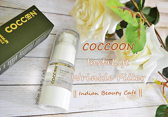 Coccoon Insta Lift Wrinkle Filler review, swatch, price, details, photos, buy online India