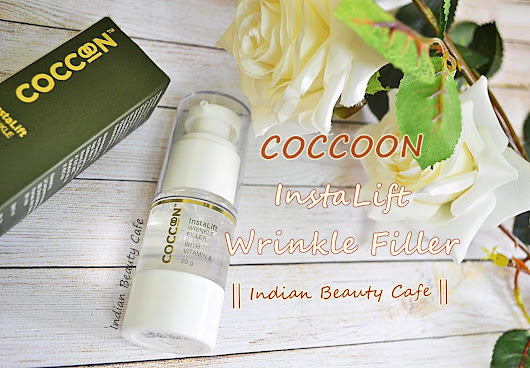 Indian Beauty Cafe: Coccoon InstaLift Wrinkle Filler | Review, Swatch