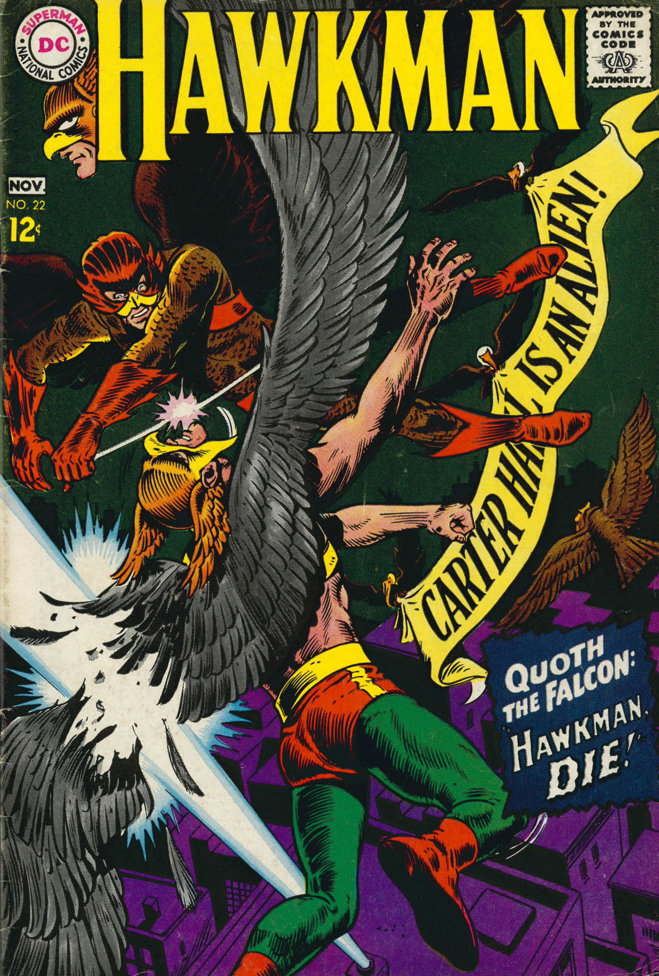 Hawkman (1964) issue 22 - Page 1