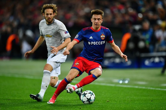 Golovin Diperebutkan 2 tim English Premier League