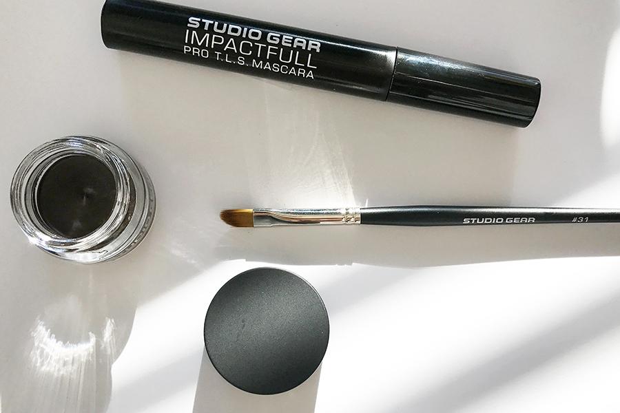 Studio Gear Cosmetics mpactfull Pro T.L.S. Mascara Invisible Gel Liner #31 Invisible Liner Brush