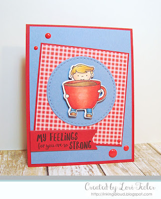 My Feelings for You Are So Strong card-designed by Lori Tecler/Inking Aloud-stamps from Neat and Tangled