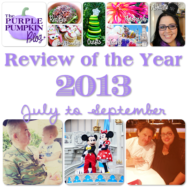 Review of the Year 2013 - July to September