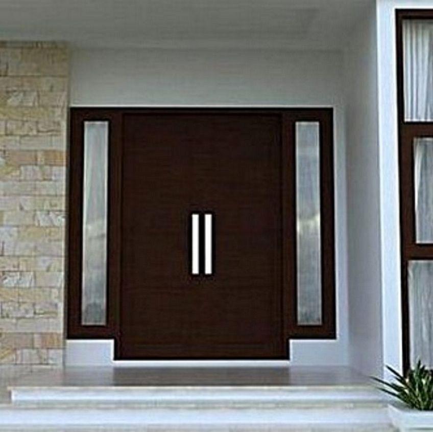 pintu depan rumah minimalis 3