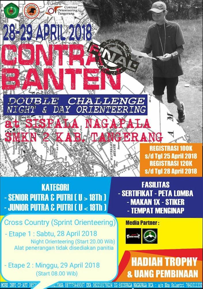 CONTRA Banten Orienteering • 2018