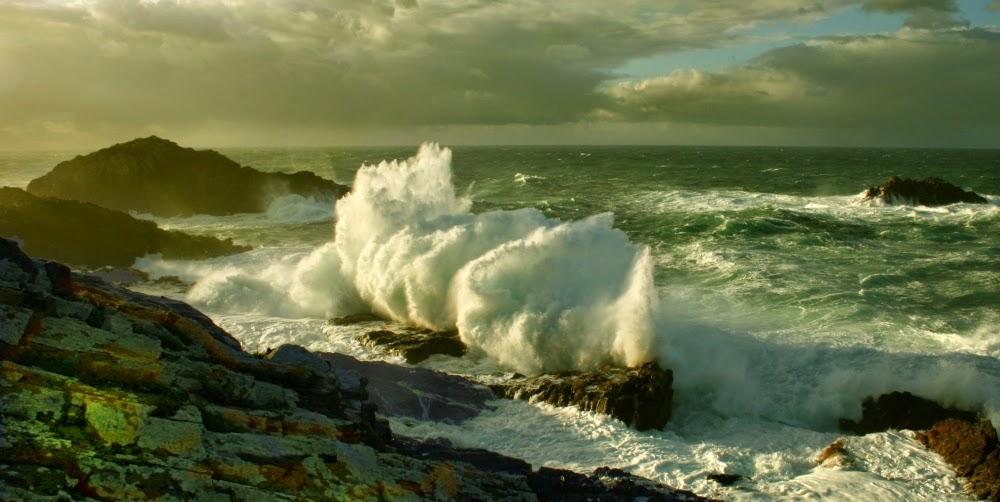 Temporal galicia, fotos de olas, paisajes de España, paisajes bonitos,