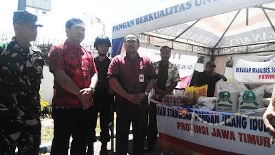 Kendalikan Harga Sembako, Bulog Sub Divre II Surabaya Selatan Luncurkan Gerakan Stabilisasi Pangan