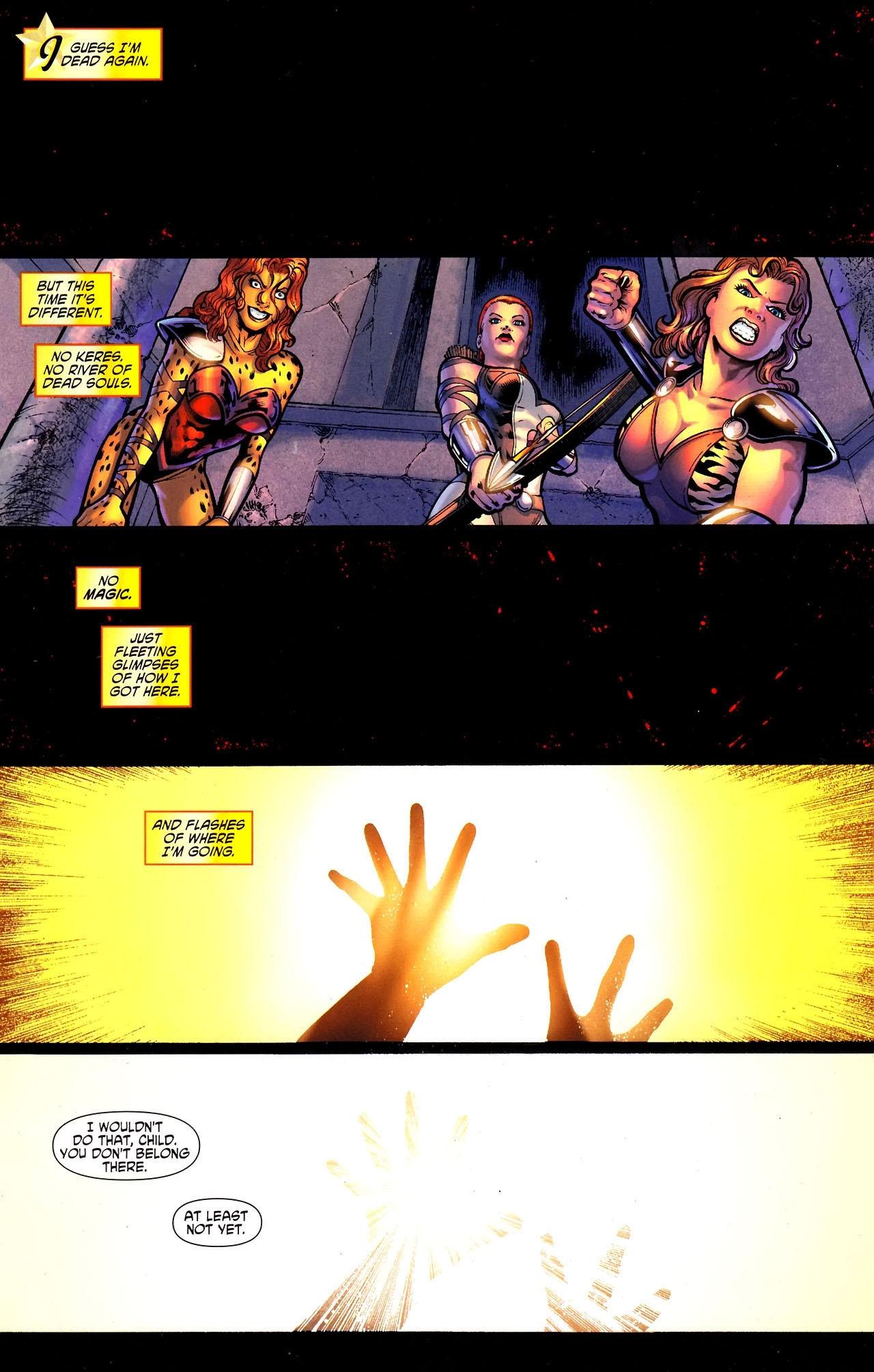 Read online Wonder Woman (2006) comic -  Issue #609 - 2