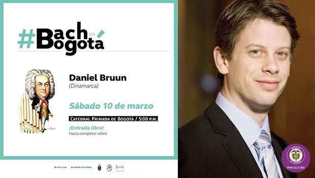 Concierto No.12 del Ciclo 'Bach en Bogotá' con Daniel Bruun