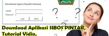 Download Aplikasi SIBOS PINTAR, Tutorial Vidio, dan Buku Manual SIBOS PINTAR
