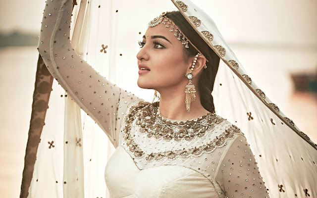 Sonakshi Sinha in Traditional Dress,Sonakshi Sinha wallpapers