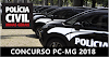 Concurso Polícia Civil-MG para delegado PC-MG