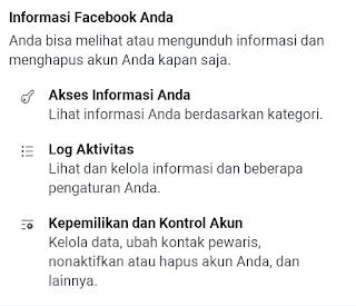 informasi facebook anda