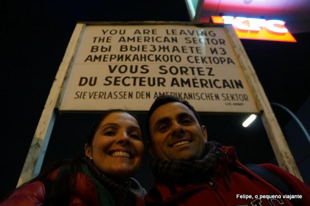 Museu do Muro, em Checkpoint Charlie, Berlim