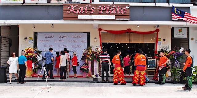 Kai's Plato Kota Kemuning Seafood Restaurant Address