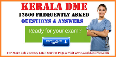 Kerala DME - 12500 Frequently asked Questions , Answers
