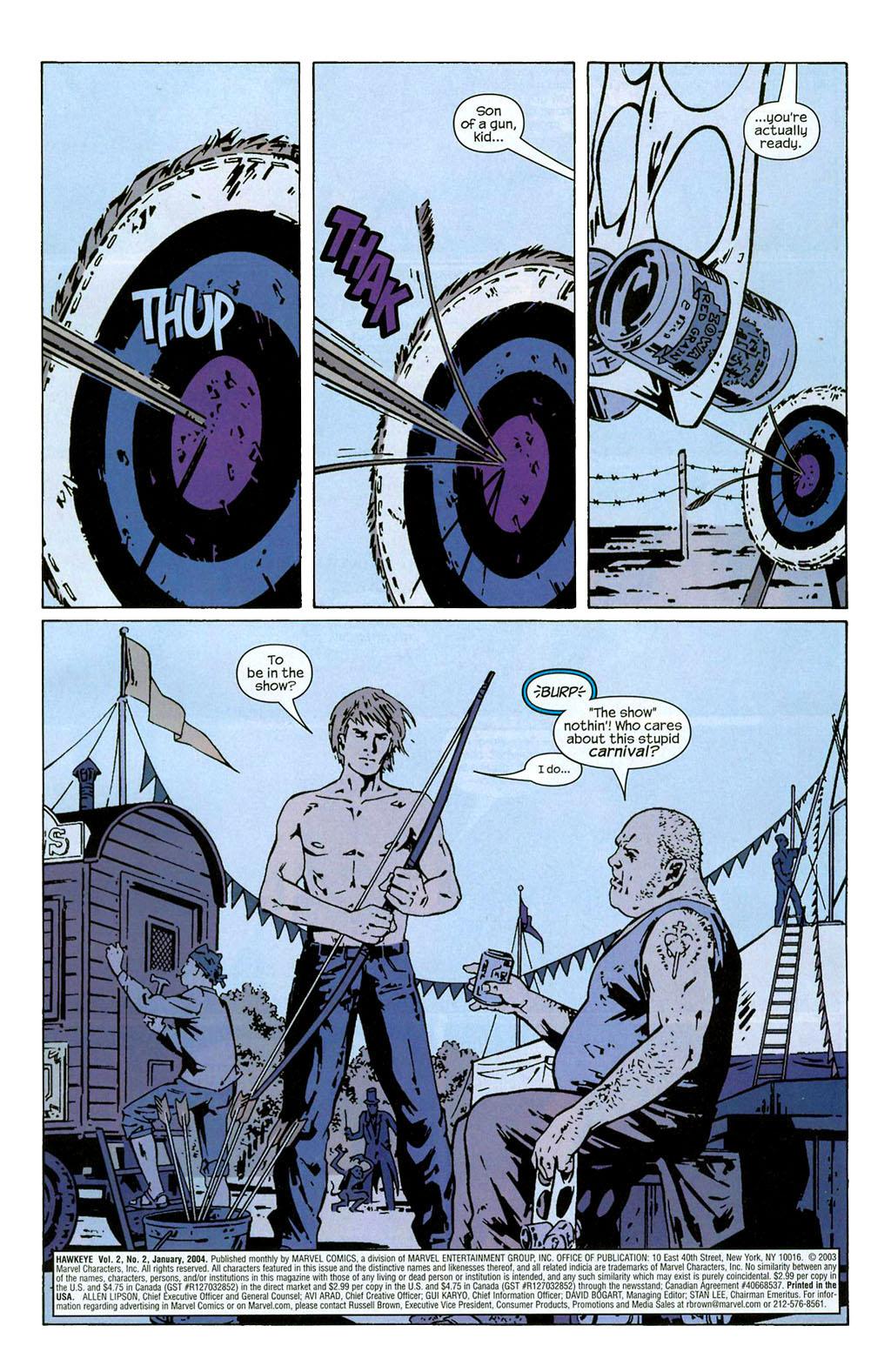 Hawkeye (2003) Issue #2 #2 - English 2