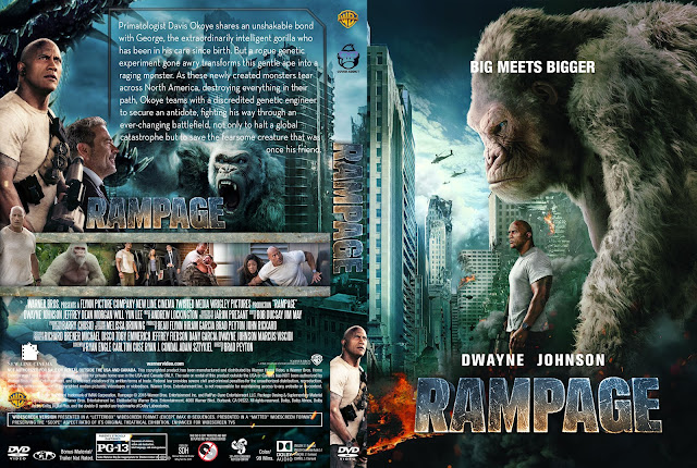 Rampage DVD Cover