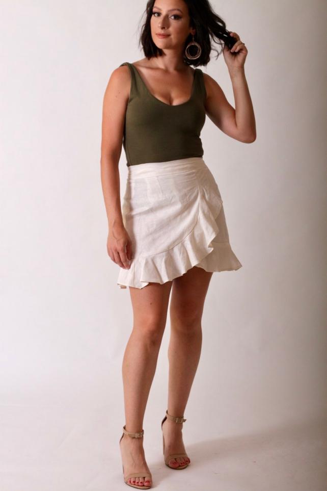 Julia Bobbin - The City Stroll Wrap Skirt
