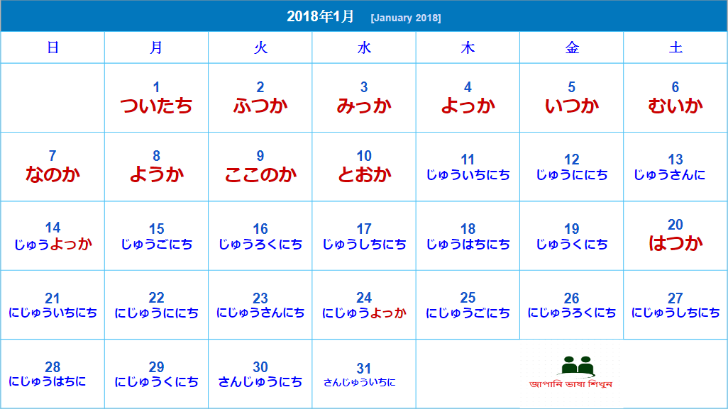 Japan date