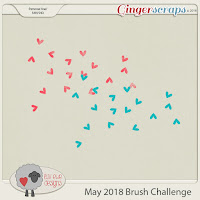 May 2018 Brush Challenge by Luv Ewe Designs