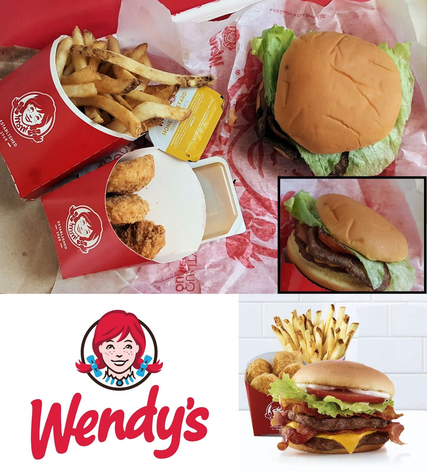 Earl Cooks Etc Earl Eats Wendy S Giant Jr Bacon Cheeseburger Meal A Review