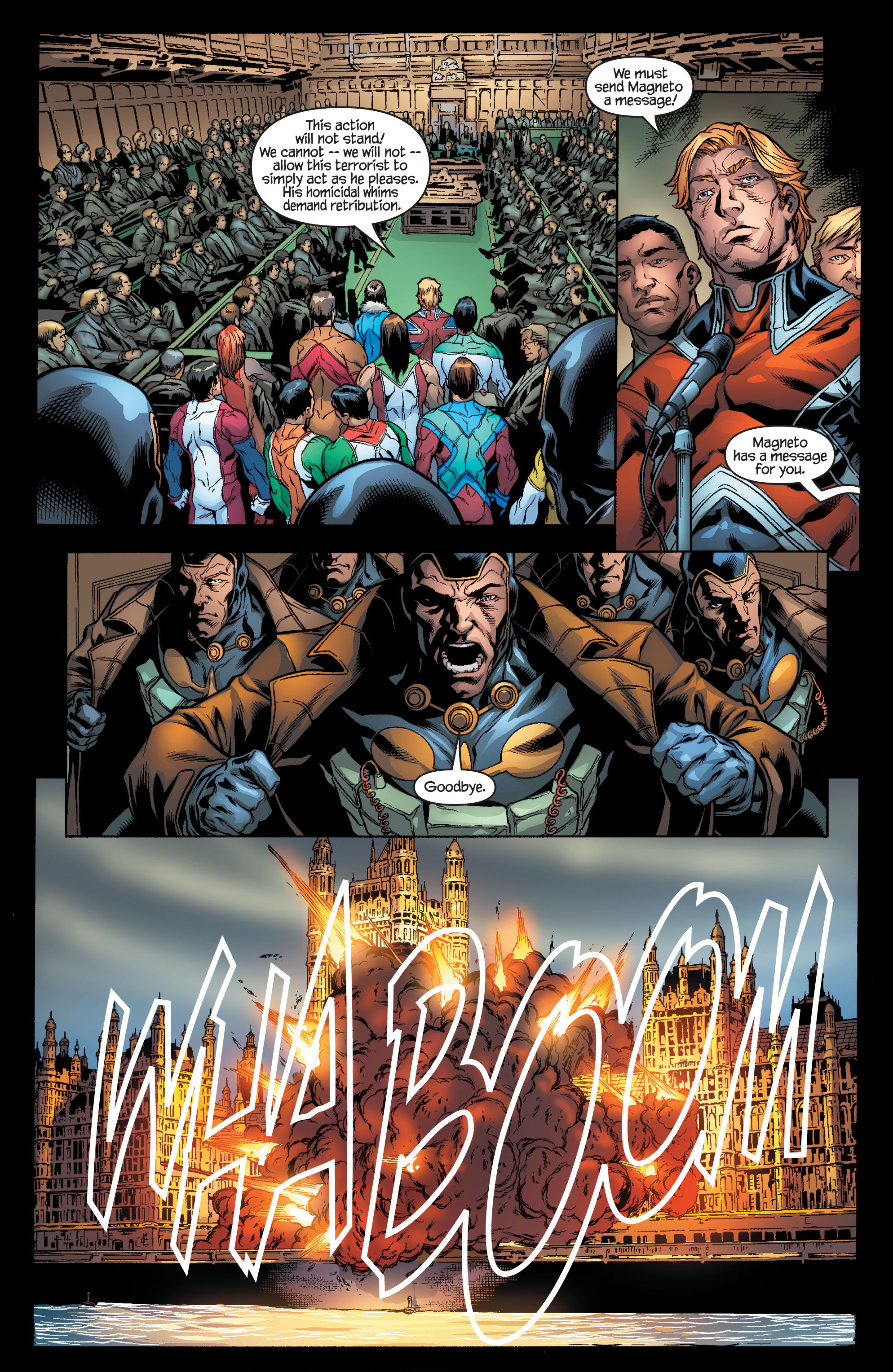 Read online Ultimate X-Men comic -  Issue #100 - 5