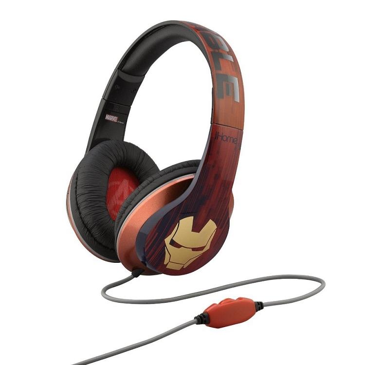 ihome iron man słuchawki nauszne